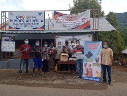 Peduli Kampung Tangguh di Detusoko Barat, WNA Bantu 500 Masker dan 150 Antiseptik
