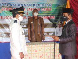 Ingatkan Camat yang Baru Dilantik, Djafar Achmad Minta Untuk Sering Turun Ke Wilayahnya