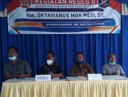 Reses II Anggota DPRD Ende Sepakat Mendukung Pemekaran Kecamatan Ende