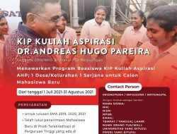 Beasiswa KIP Kuliah Aspirasi AHP: 1 Desa/Kelurahan 1 Sarjana