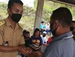 66 KPM Desa Woloau Menerima Bantuan Langsung Tunai Tahap Pertama