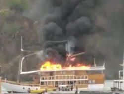 Kebakaran Kapal Wisata di Labuan Bajo, Diduga Akibat Korsleting Listrik dari Genset
